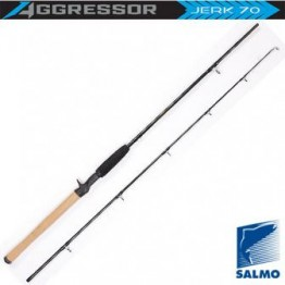 Спиннинг Salmo Aggressor Jerk 70, углеволокно, штекерный, 1,8 м, тест: 20-70 г, 150 г